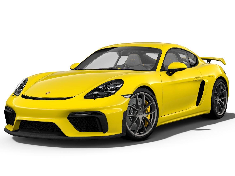 Porsche 718 Cayman GT4 – 1