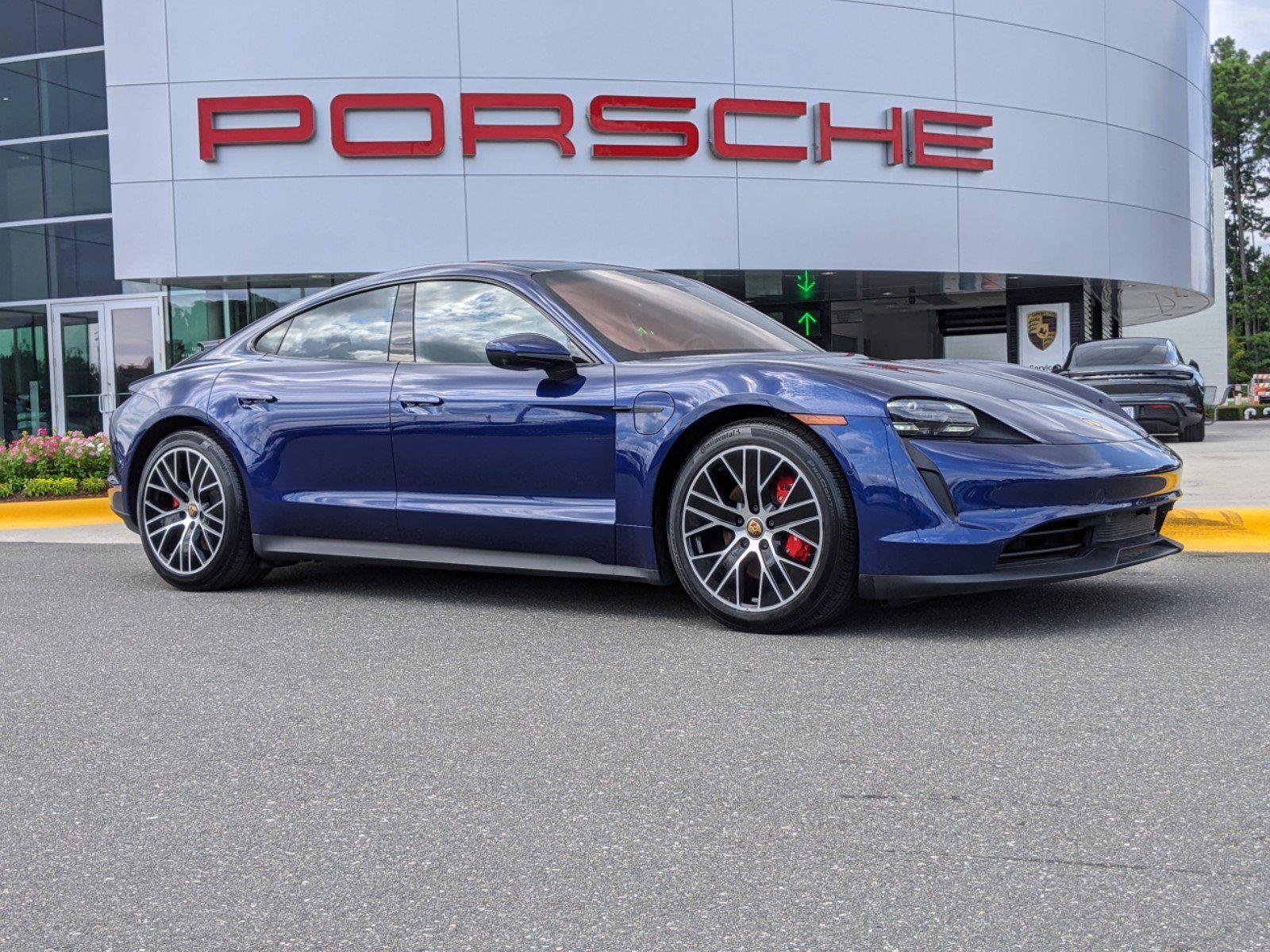 2020 Porsche Taycan 4S – 2