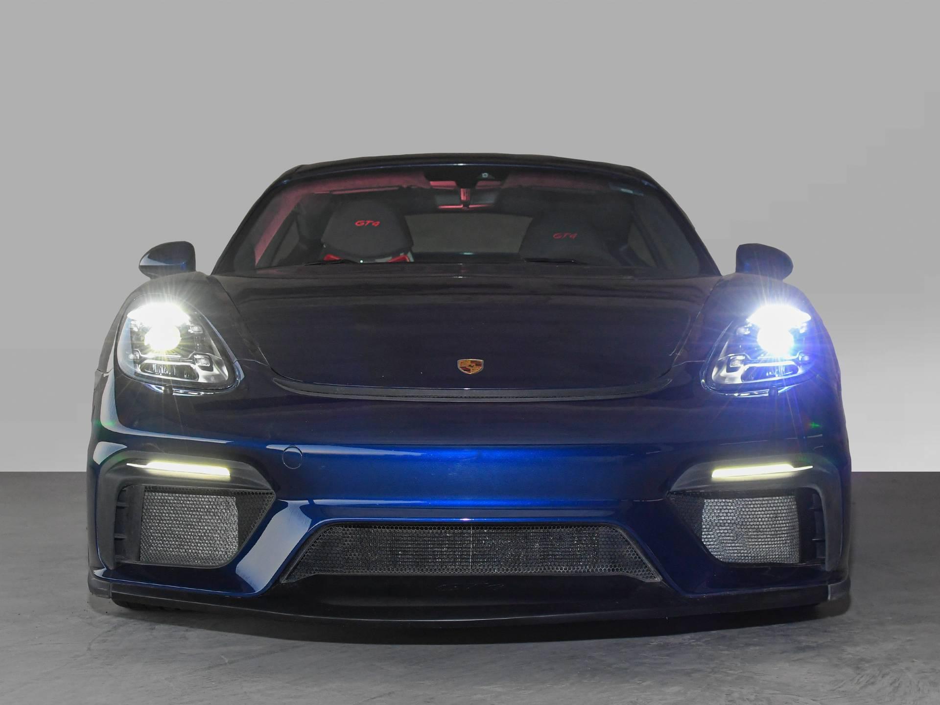 2020 Porsche 718 Cayman GT4 – 1