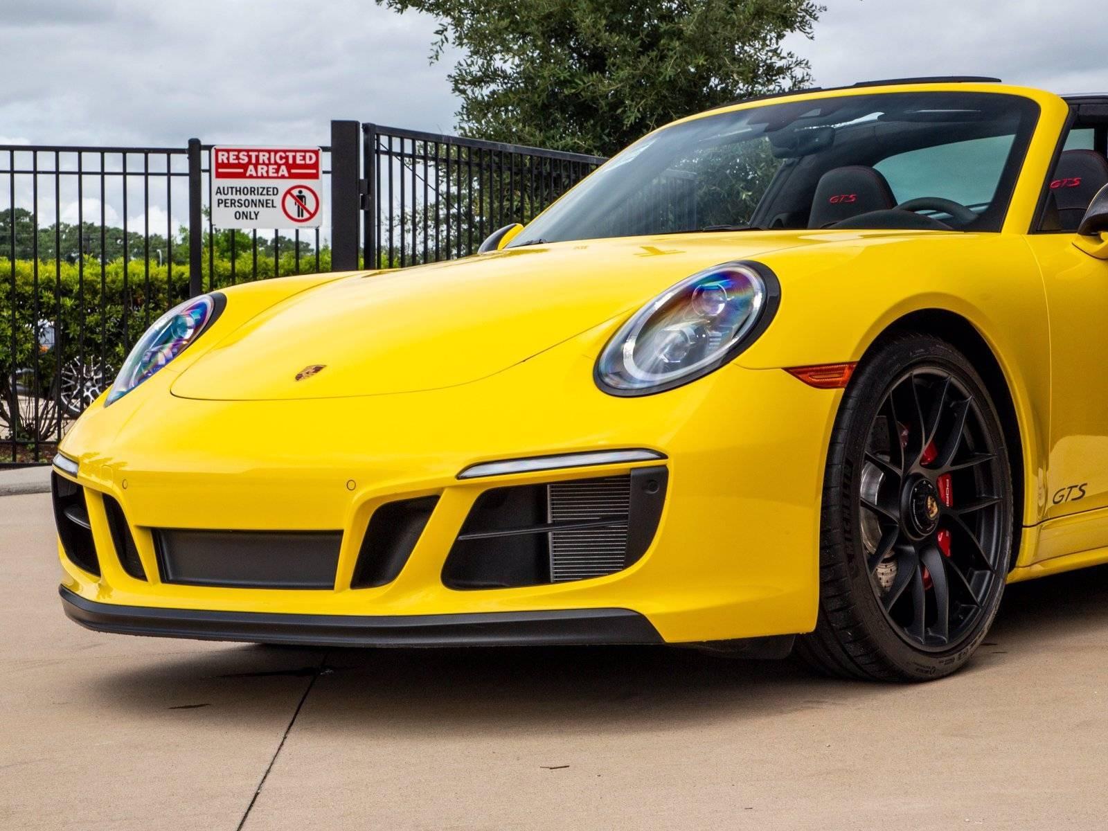 2019 Porsche 911 Targa 4 GTS – 4