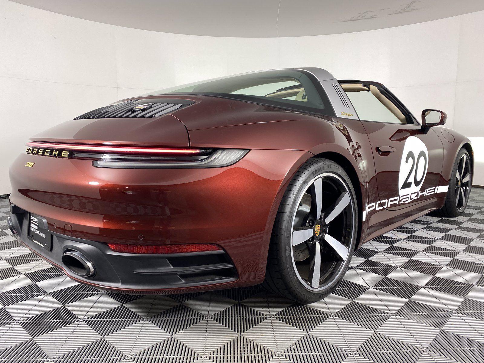 2021 Porsche 911 Targa 4S Heritage Design Edition – 5