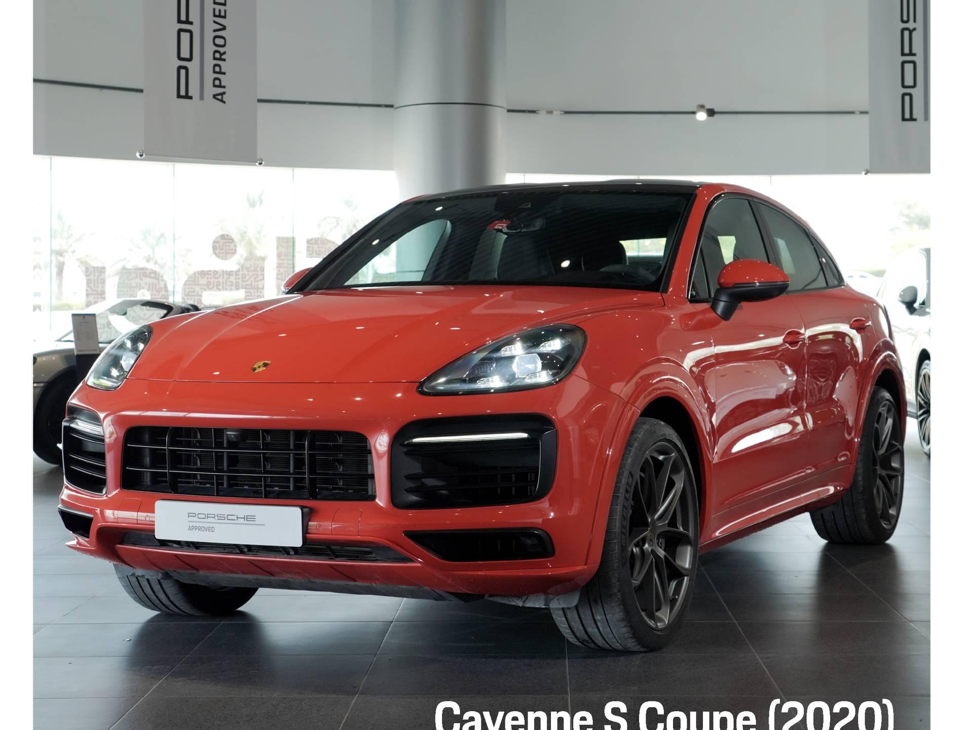 2020 Porsche Cayenne S Coupé – 1