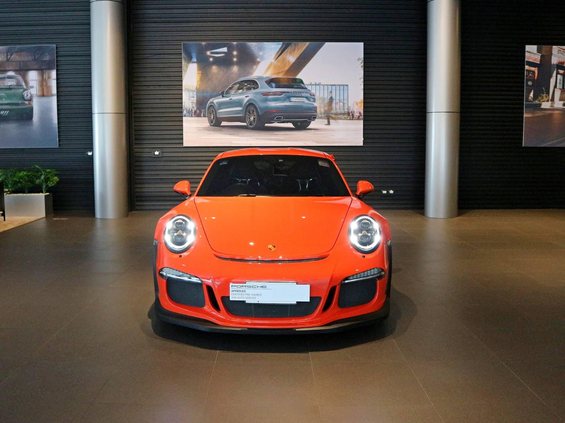 2016 Porsche 911 GT3 RS – 2