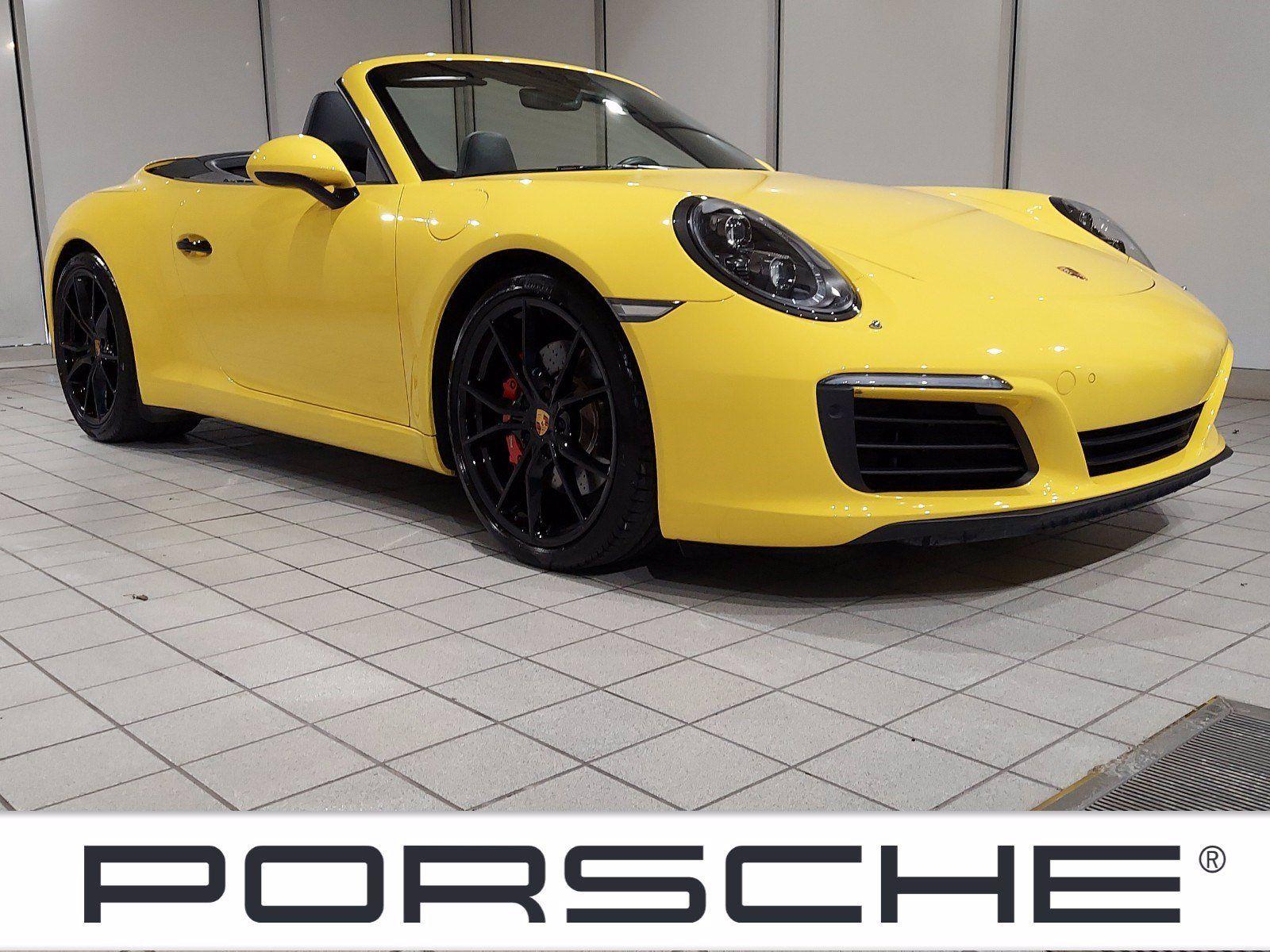 2017 Porsche 911 Carrera S Cabriolet – 1