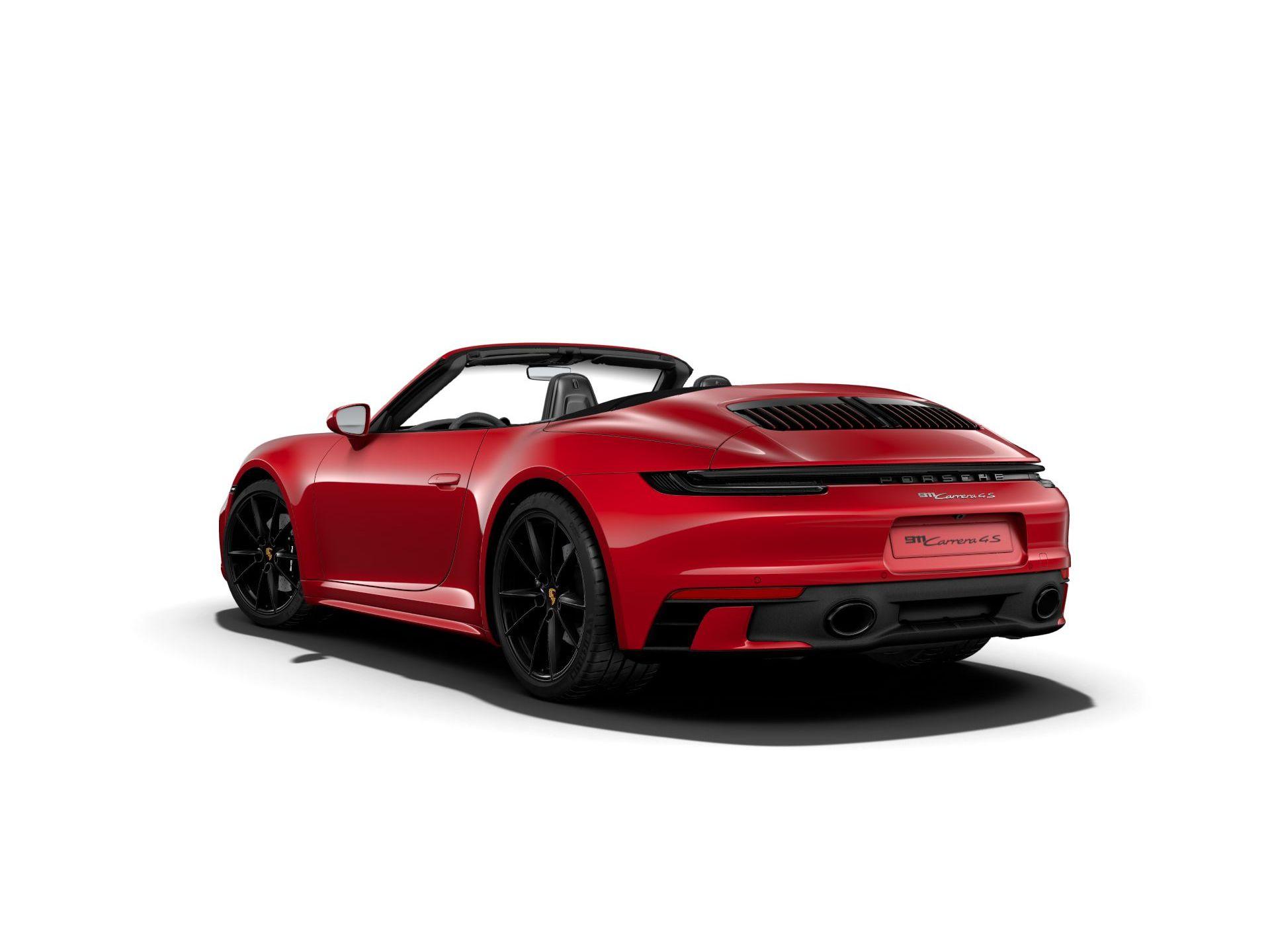 2021 Porsche 911 Carrera 4S Cabriolet – 3