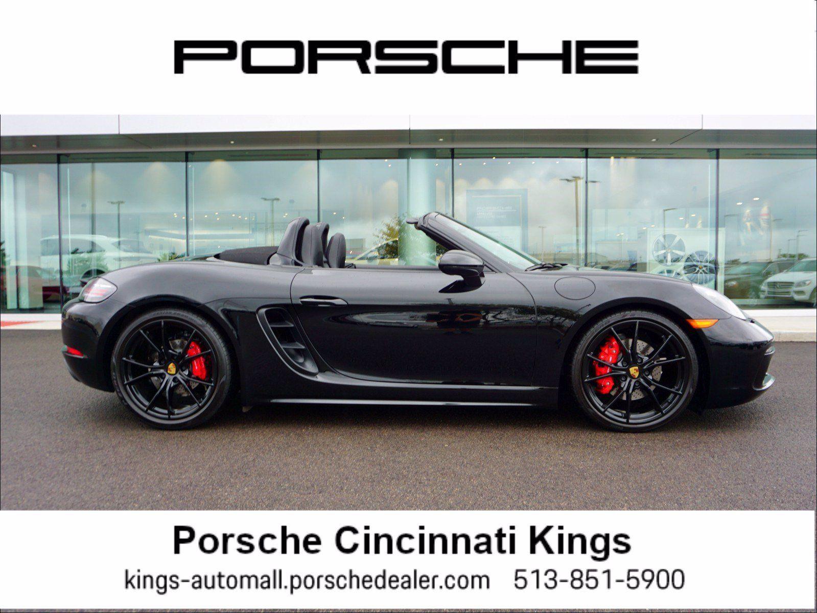 2017 Porsche 718 Boxster S – 1