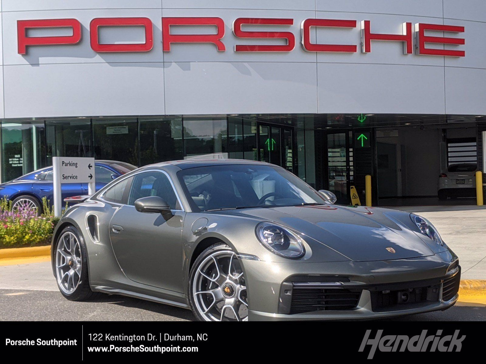 2021 Porsche 911 Turbo S – 1