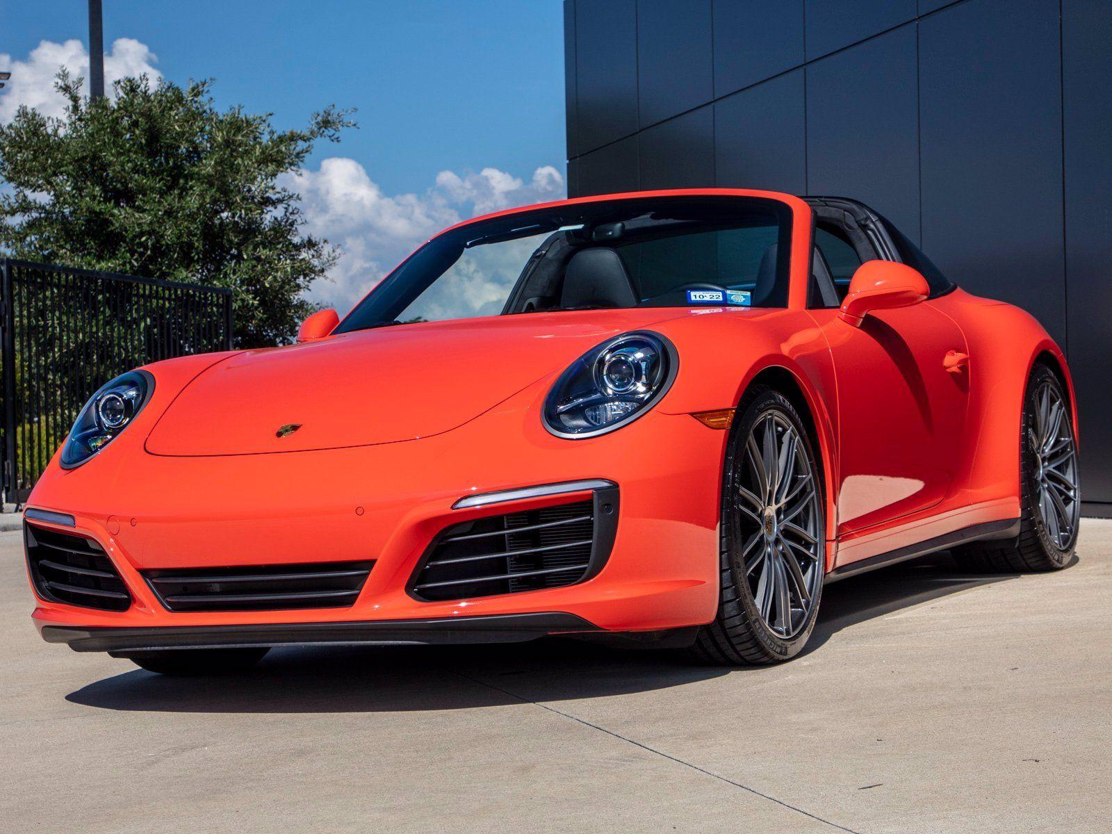 2019 Porsche 911 Targa 4 – 2