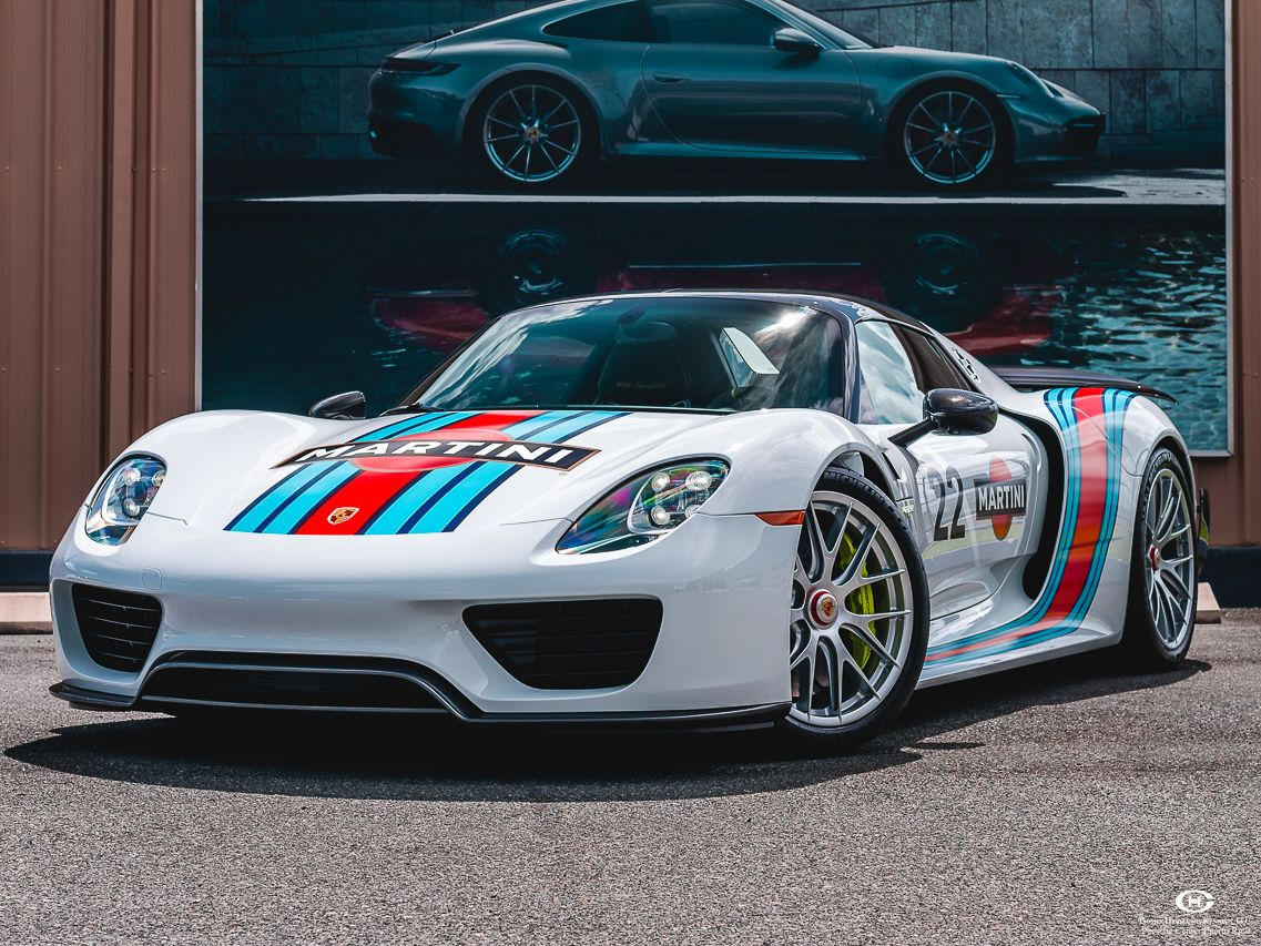 2015 Porsche 918 Spyder Weissach Package – 1