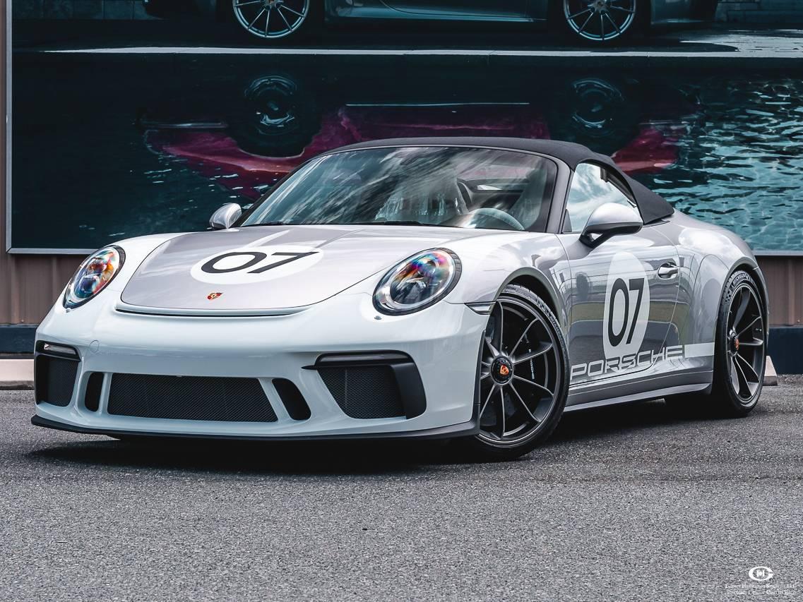 2019 Porsche 911 Speedster – 1
