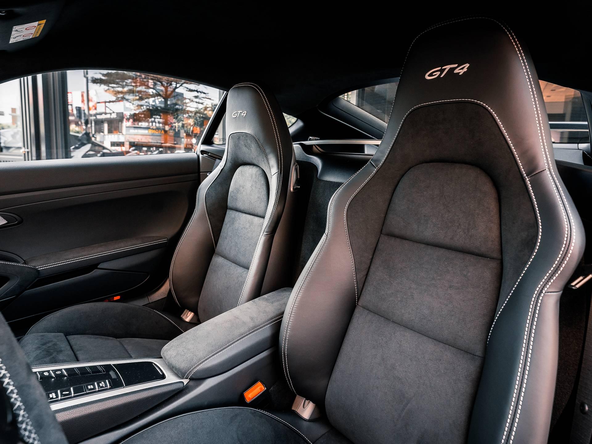 2021 保時捷 718 Cayman GT4 – 4
