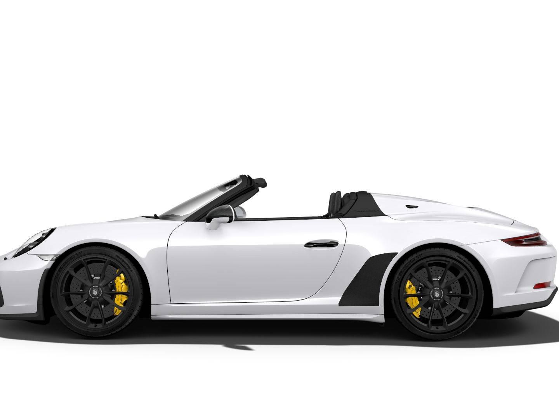 2019 Porsche 911 Speedster – 2