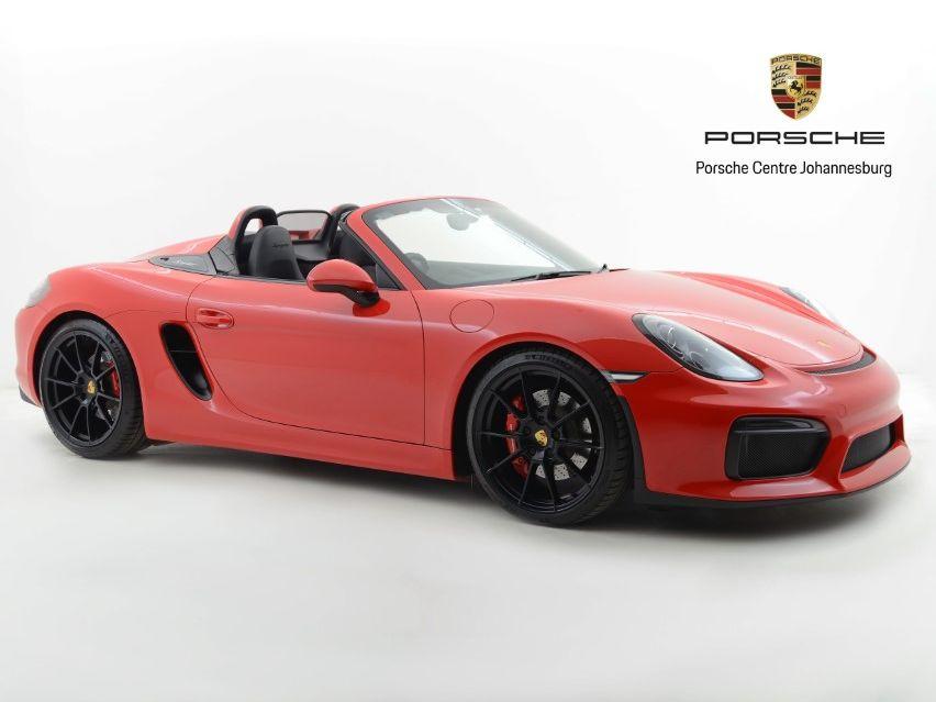 2016 Porsche Boxster Spyder – 1