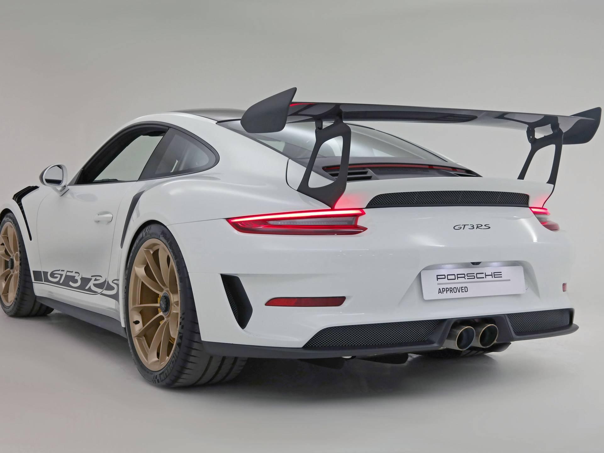 2019 Porsche 911 GT3 RS – 2