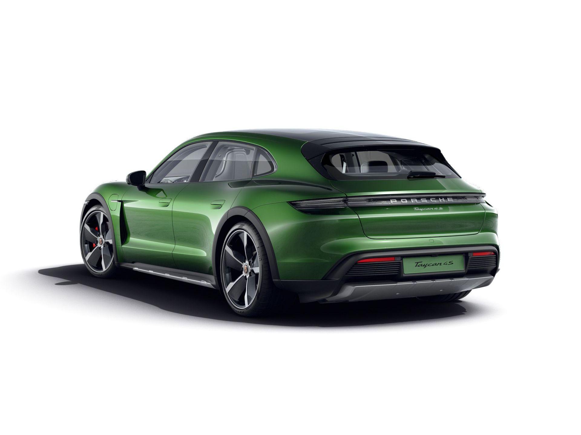 2021 Porsche Taycan 4S Cross Turismo – 3