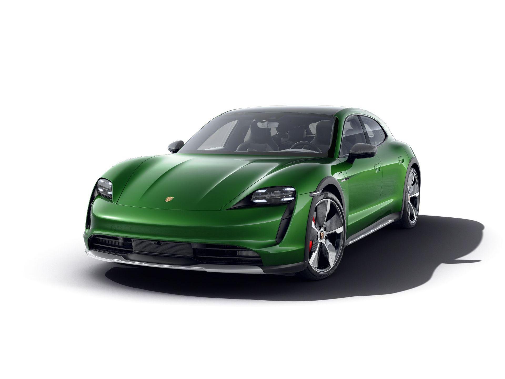 2021 Porsche Taycan 4S Cross Turismo – 1